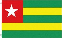 TOGO LARGE 3' X 5' FEET COUNTRY FLAG BANNER .. NEW AND IN A PACKAGE