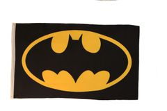 BATMAN 3' X 5' FEET PICTURE FLAG BANNER .. NEW AND IN A PACKAGE