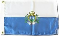 SAN MARINO LARGE 3' X 5' FEET COUNTRY FLAG BANNER .. NEW AND IN A PACKAGE