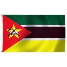 MOZAMBIQUE LARGE 3' X 5' FEET COUNTRY FLAG BANNER .. NEW AND IN A PACKAGE