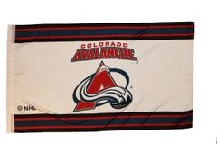 COLORADO AVALANCHE 3' X 5' FEET NHL HOCKEY LOGO FLAG BANNER .. NEW AND IN A PACKAGE