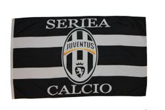 JUVENTUS 3' X 5' FEET FIFA SOCCER WORLD CUP FLAG BANNER .. NEW AND IN A PACKAGE