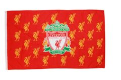 LIVERPOOL 3' X 5' FEET FIFA SOCCER WORLD CUP FLAG BANNER .. NEW AND IN A PACKAGE