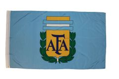 ARGENTINA AFA LOGO 3' X 5' FEET FIFA SOCCER WORLD CUP FLAG BANNER .. NEW AND IN A PACKAGE