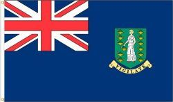 BRITISH VIRGIN ISLANDS LARGE 3' X 5' FEET COUNTRY FLAG BANNER .. NEW AND IN A PACKAGE