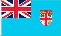FIJI LARGE 3' X 5' FEET COUNTRY FLAG BANNER .. NEW AND IN A PACKAGE