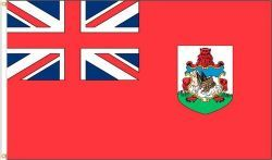 BERMUDA LARGE 3' X 5' FEET COUNTRY FLAG BANNER .. NEW AND IN A PACKAGE