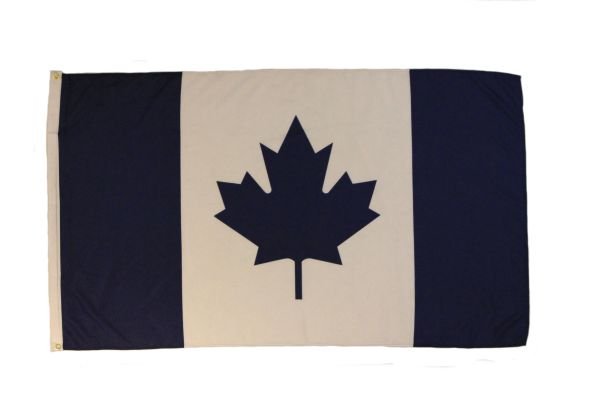 CANADA BLUE LARGE 3' X 5' FEET COUNTRY FLAG BANNER .. NEW AND IN A PACKAGE