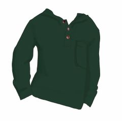 Kingston Hoodie in Hunter Green - Preorder - Ships October 7th