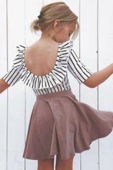 Mauve Twirl Skirt - RTS