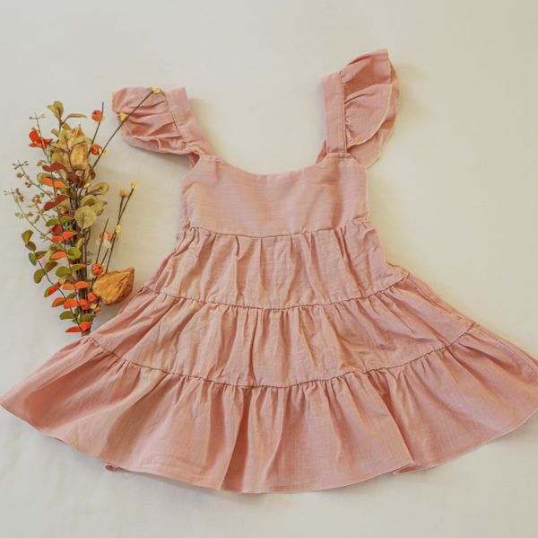Margot toddler/baby dress - HAND-DYED