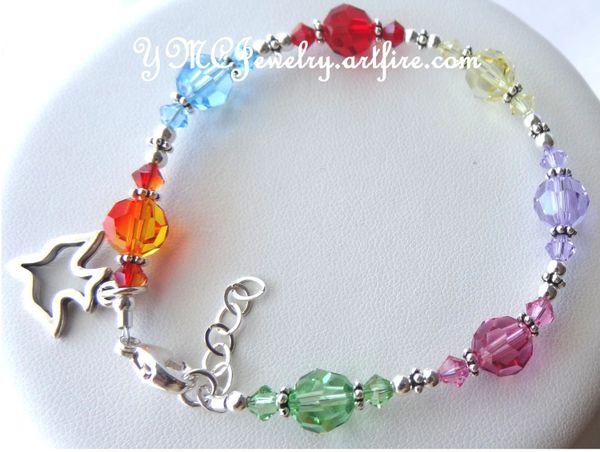 Confirmation Bracelet- Gifts Of The Holy Spirit Bracelet, Godmother Present, Religious Bracelet, The 7 Gifts of the Holy Spirit Bracelet