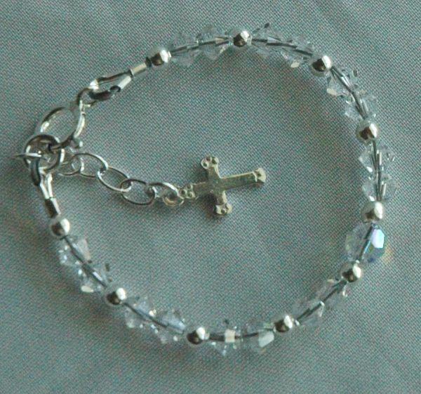 Delicate Child Swarovski Crystal Bracelet