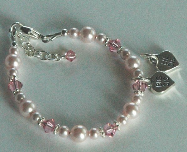 Big Sister/Little Sister Child Bracelet, Little Sister Bracelet