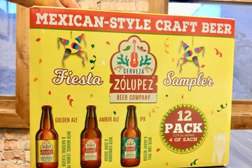 Our Zólupez fiesta sampler, a beer variety pack!