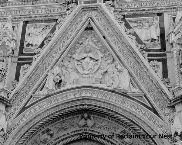 Doorway over Florence