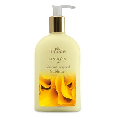HINODE SENSATION SUBLIME BODY MOISTURIZING