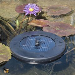 Pond Air Pump Solar Floating Garden Pond Oxygenator