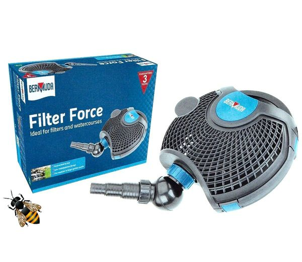 Pond Filter Pump 6500 Submersible Filtration Waterfalls Courses Bermuda Force