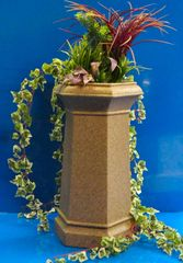 Chimney Pot Garden Planter Patio Flower Tub Sandstone Colour