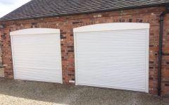 EG55 white roller electric garage door 7x7