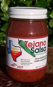 Tejano Salsa Hot - 16 oz.