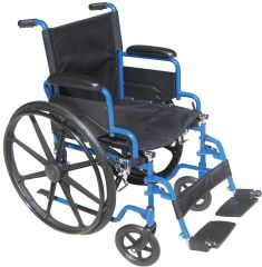 Blue Streak Wheelchair Single Axle