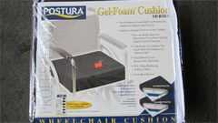 "Gel-Foam Wheelchair Cushion 18"" x 16"" x 3.5"""