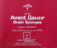 "Avant Gauze Drain Sponges - 2"" x 2"""