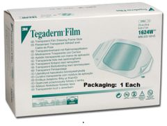 "Tegaderm™ Transparent Film Dressing Frame Style 1624W- 2(3/8)"" x 2(3/4)"""