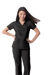 Dickies - Women's Mock Wrap Scrub Top
