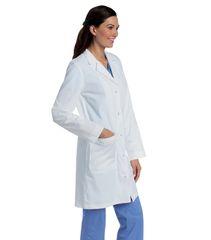 3172 - Women's Knot Button Lab Coat (Landau)