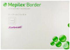 """Mepilex® Border Silicone Foam Dressing 6"""" x 8"""""""