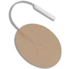 """Unipatch Re-Ply Self-Adhering and Reusable Stimulating Electrode 1-1/2"""" x 2"""" Oval"""