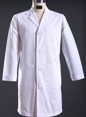 6103 - Men's Long Lab Coat Regular