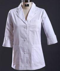 6102 - Lady's Short Lab Coat