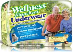 Wellness Absorbent Underwear/ Brief- Pull Up