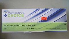 "Self Sealing Sterilization Pouch 3.5"" x 9"""