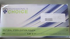 "Self Sealing Sterilization Pouch 5.25"" x 11"""
