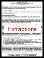 Informed Consent for Extractions