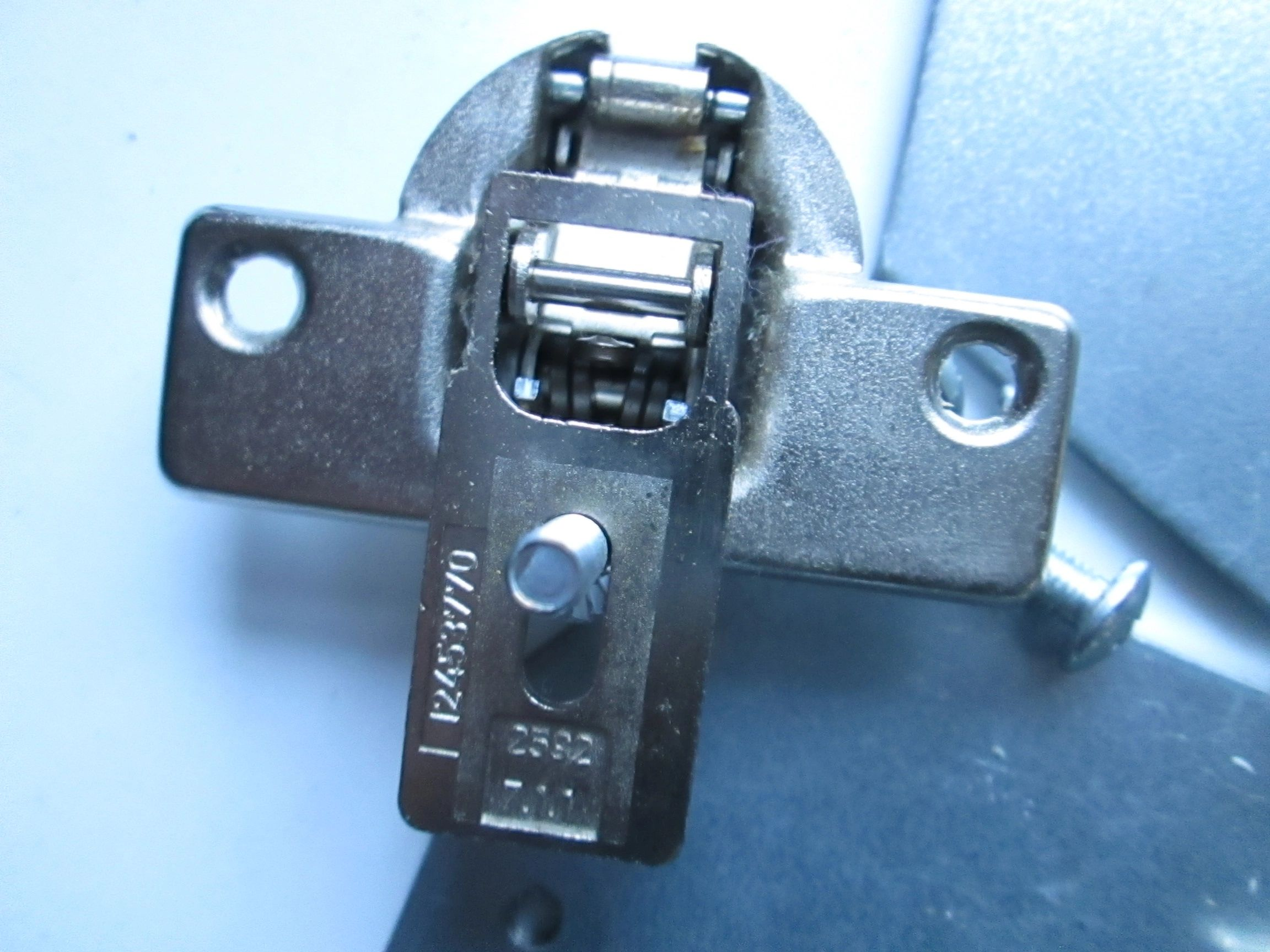 1245378003 Integrated Door Hinge for Electrolux Washing Machine equivalent