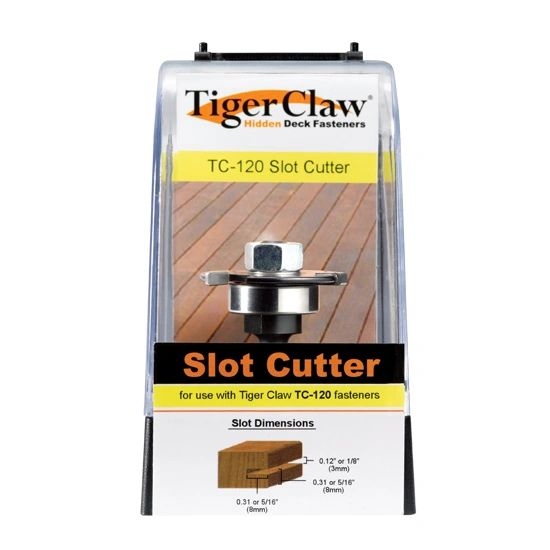 Tiger claw slot cutter tc120