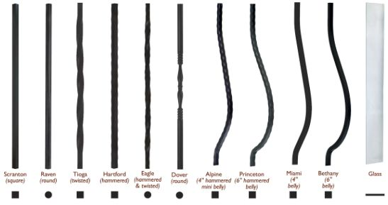 Keylink American Eagle Style Aluminum Railing