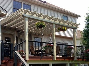 Clay Classic Attached Vinyl Pergola Kit starting at
