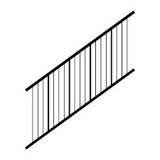 "Westbury Tuscany C80 Stair Verticable Railing Kit 36"" Height"