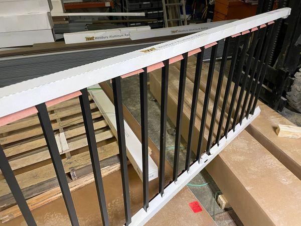 Preassembled Westbury Tuscany C10 Level Aluminum Railing Kit