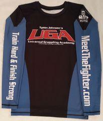 Shirt (Rashguard / Blue-Black)