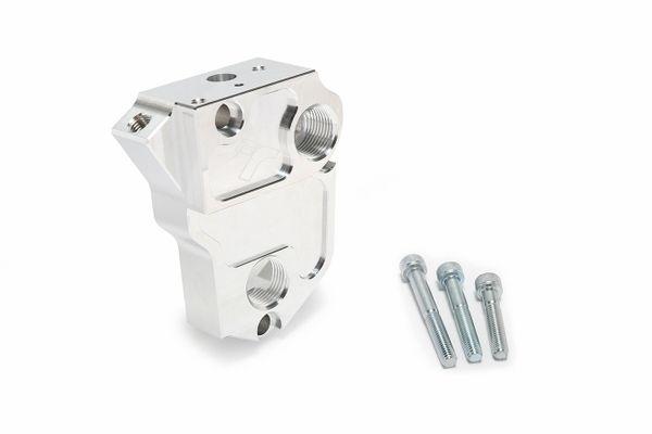 TracTuff J Series Remote Oil Filter Block Adapter