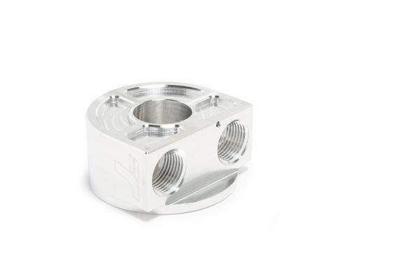 TracTuff Remote Oil Filter Block Adapter