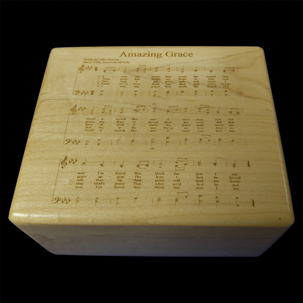 AMAZING GRACE MUSIC BOX
